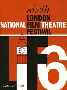 London Film Festival posters, 1957-2010 - Retronaut