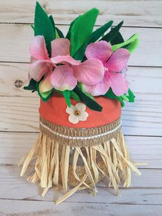 Moana Centerpieces, Moana Party Decorations, Elegant Centerpieces, Mason Jar Centerpieces, Birthday Decorations, Moana Birthday Party, Luau Birthday, Luau Party, Birthday Parties
