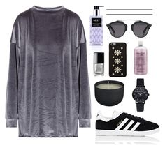 """""""Untitled #1986"""" by katerina-rampota ❤ liked on Polyvore featuring Nest Fragrances, My Mum Made It, adidas, Chanel, MICHAEL Michael Kors, CB2, philosophy and Christian Dior"""