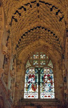 Rosslyn Chapel, Scotland by mksfca