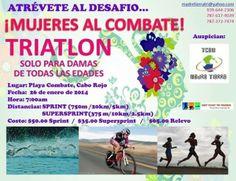Trialo: Mujeres al Combate @ Playa El Combate, Cabo Rojo #sondeaquipr #mujeresalcombate #playacombate #caborojo