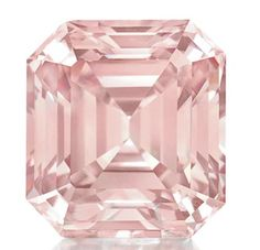 6.61ct fancy intense pink diamond - sold at Christie's for 3.5 million in April 2011
