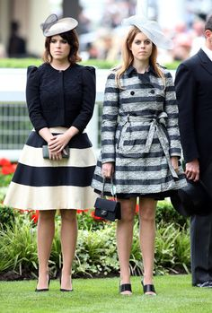 Princesses Eugenie and Beatrice attend the opening day of Ascot, June 18th 2013 - Photo 6   Celebrity news in hellomagazine.com