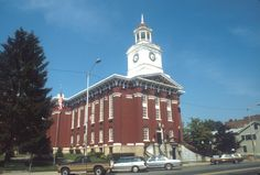 Jefferson County Courthouse, Brookville, Pa.  Jerry lived in Brookville for almost a year.