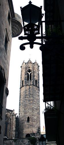 Cathedral Tower, Barcelona, Catalonia