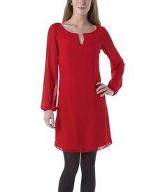 Smart dress red - Promod