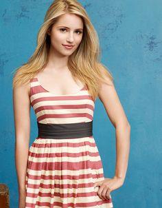 Dianna Agron. Love her dress