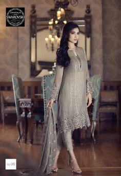 Maria B Mbroidered Eid BD09