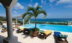 Panoramic Ocean View Villa in Orient Bay