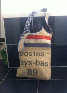 tas van een postzak