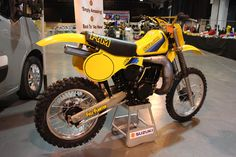 classicdirtbikerider.com-photo by Mr J-2015 Telford classic dirt bike show-SUZUKI RM465