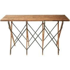 Schuster Console Table II by Triboa Bay Living