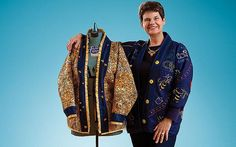 First Lady Val Peterson can teach you how to make a bog coat just like hers. #bogcoat #diy #georgiatech