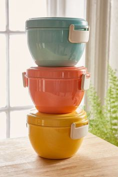 These Cheap Must-Haves Will Change Your Life #refinery29  http://www.refinery29.com/cheap-home-decor#slide-5  The first step to start bringing lunch to work is stocking up on colorful containers. Urban Outfitters Bento Bowl, $24, available at Urban Outfitters....