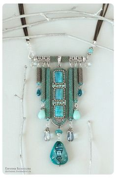 FunkyIMG is a free image hosting that allows you to easily upload images and share them with friends. Rope Jewelry, Seed Bead Jewelry, Bead Jewellery, Pendant Jewelry, Jewelry Crafts, Jewelry Art, Jewelry Design, Jewelery, Handmade Beaded Jewelry