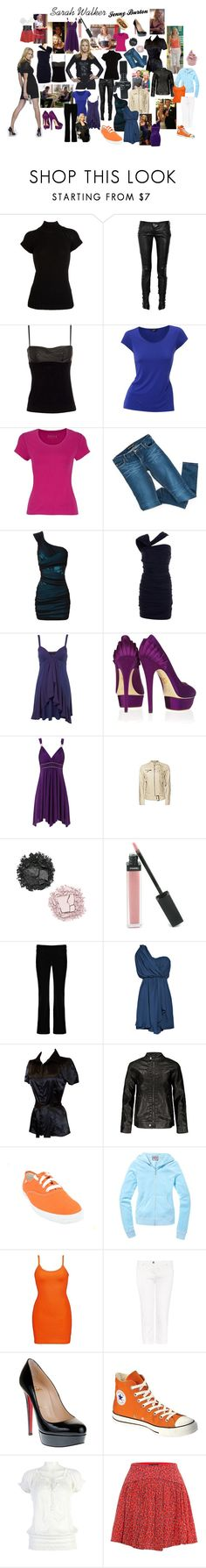 """Dress Like Sarah Walker!"" by nerdyginger66 ❤ liked on Polyvore featuring Levi's, Barneys New York, Balmain, Alexander Wang, Therapy, Hobbs, Holster, Precis Petite, Bardot and Jane Norman"