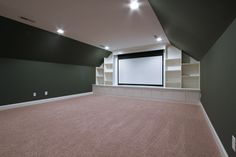 Bonus Room / Theater Room