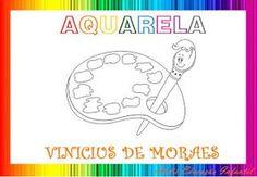 """ATELIÊ CANTINHO DA EDUCAÇÃO INFANTIL: PROJETO: POESIA """"AQUARELA"""" DE VINICIUS DE MORAES"""