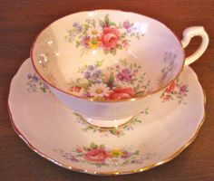 Royal Imperial English Bone China Cup and Saucer