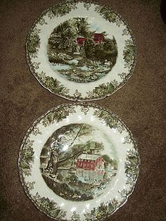 Friendly Village dishes by Johnson Brothers