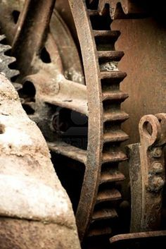 Picture of rusting old industrial machine cog wheel background stock photo, images and stock photography. Industrial Machine, Vintage Industrial, Rusty Metal, Heavy Metal, Gear Wheels, The Infernal Devices, Cogs, Industrial Revolution, Mechanical Engineering