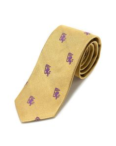 Brooks Brothers Yellow Griffin Skinny Silk Tie ...  if only the flag said LSU!