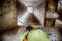 indoor climbing, Munich Kletterhalle Heavens Gate