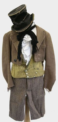A perfect Victorian boys costume for Oliver!