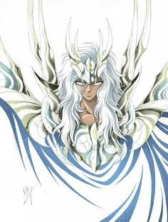Zeus Megistos. Artwork by SpaceWeaver #SaintSeiya