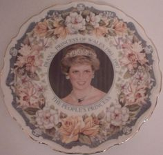 Diana Princess of Wales The People's Princess commemorative plate | eBay