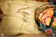 Flower girl basket & and ring barrier pillow