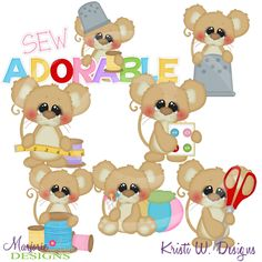 Sew Adorable SVG-MTC-PNG plus JPG Cut Out Sheet(s) Our sets also include clipart in these formats: PNG & JPG