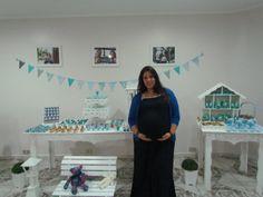 Chá de bebê - motivo junino