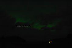 Norrsken över Skultuna (Northern light over Skultuna, unique for Sweden)  2015-12-20