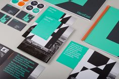 identity for Here East / by dn&co.