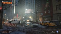 ArtStation - The Division, Ivet Jordanova