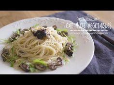 冬限定!香り豊かな爽やか柚子パスタ :How to make Yuzu pasta | EAT MORE VEGETABLES
