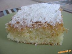 Extra rýchly hrnčekový koláč s kokosom