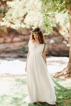 Rue de Sine wedding dress | from the @aandbebridal look book | see more on: http://burnettsboards.com/2014/11/10-perfect-wedding-dresses/
