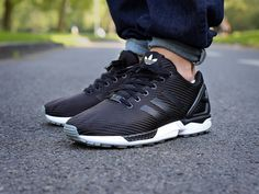 adidas ZX Flux Textile (schwarz/weiss) - The Good Will Out | Sneakershop Köln