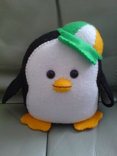 Felt Penguin by ~JIAMINLIM on deviantART