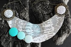 Indelible Necklace | Katarina Roccella for Art Gallery Fabrics