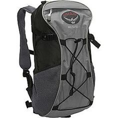 """OWNED: osprey daylite. it is a small daypack that has the ability to hold your water bladder, and it is also designed to """"clip"""" onto the outside of my aether 85, which is a terrific feature as it allows me to expand my pack when needed."""