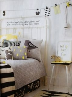 the-modern-baby-grey-yellow-gender-neutral-kids-bedroom-love-the-black-and-white-with-grey-bedding-and-yellow-accessories-ferm-living-farg-form-and-seventy-tree-products-used-in-this-shoot-by-charlott.jpg (287×387)