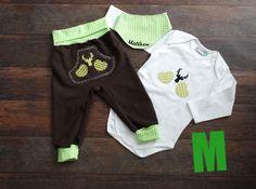 Trachtenmode - Baby TrachtenSet M Größen- und Farbwahl, ab € 60 - ein Designerstück von Aufgmaschelt bei DaWanda