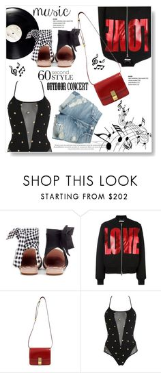 """""""Magic Music"""" by viola279 ❤ liked on Polyvore featuring Miu Miu, Givenchy, CÉLINE, PIN UP STARS and 3x1"""