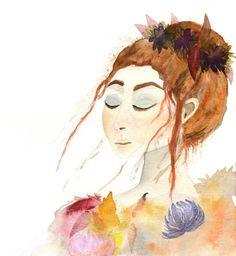 Leaving Lady Autumn by Sova Huova