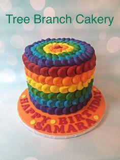 Bright Sunny Birthday time #treebranchcakery