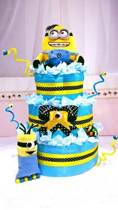 Minion Diapers cake. Be-do-be-do :)