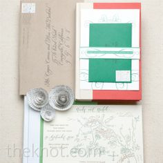 using an illustrated map noted with nearby landmarks of the wedding site